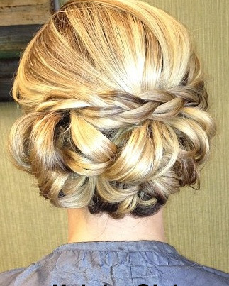 Wedding updo boca raton