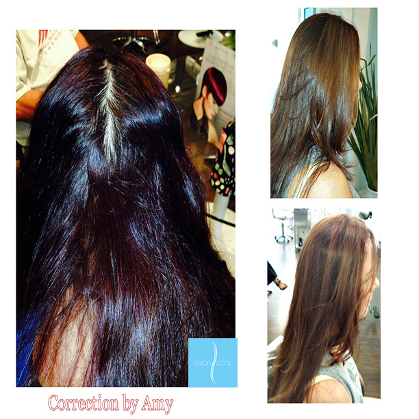 Color Correction - Salon Sora