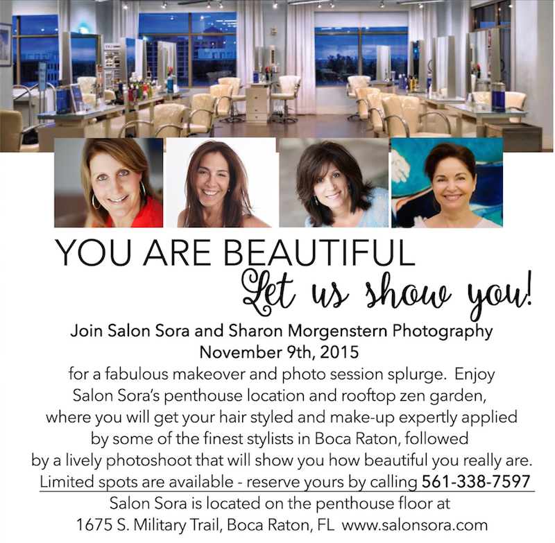 You Are Beautiful Event - Salon Sora